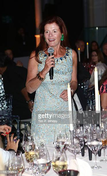 Elena Ochoa Foster attends The Official Launch of the Carlos Acosta International Dance Foundation at The Royal Opera House on September 19 2012 in...