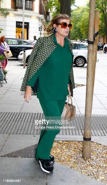 Elena Ochoa is seen on November 05, 2019 in Madrid, Spain.
