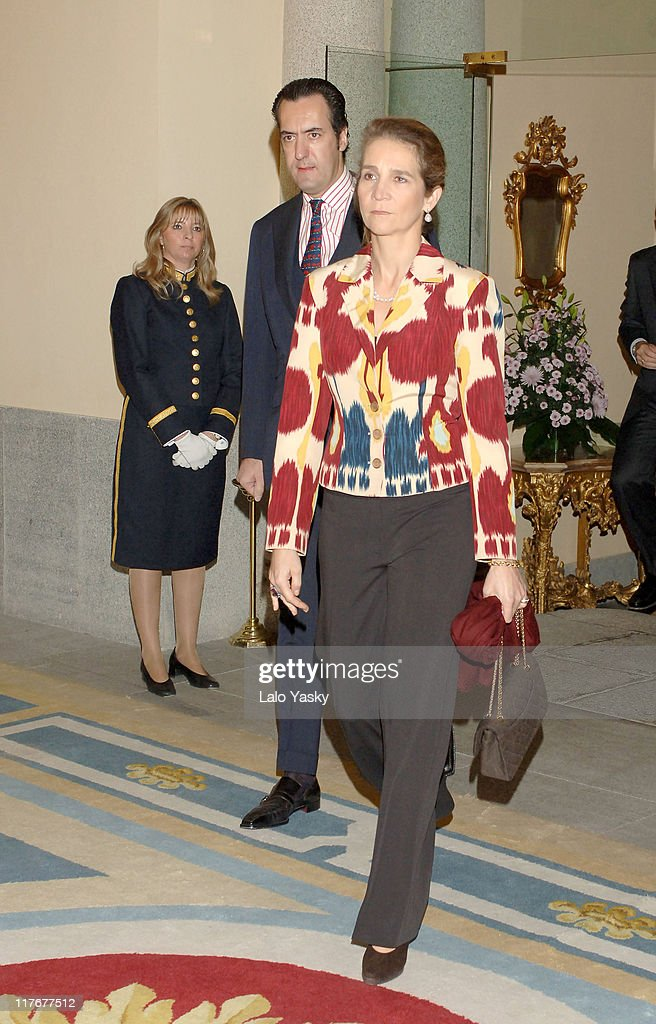 Spanish Royals Attend the National Sports Awards Ceremony - December 19, 2005