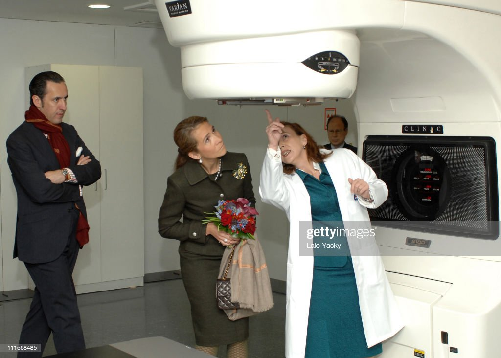 Elena of Spain Presides the Opening of Quiron Hospital - Madrid