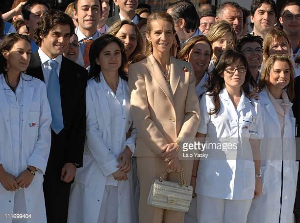 "Elena of Spain presides over the opening of ""Infanta Elena"" Hospital in Valdemoro, on November 24, 2007 in Madrid, Spain"