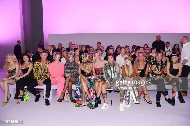Elena Ora Luke Evans, Rosie Huntington-Whiteley, Rita Ora, Nicki Minaj, Chiara Ferragni, Fedez, Sabrina Carpenter, Leona Lewis, Stephen Hung and...