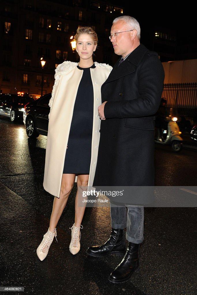 Giambattista Valli : Outside Arrivals - Paris Fashion Week - Haute Couture S/S 2014