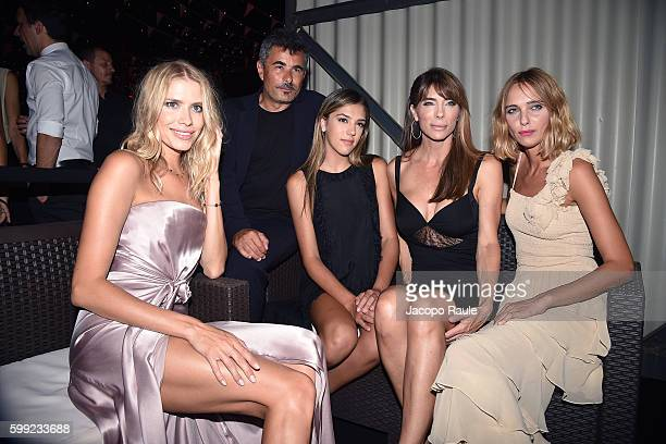 Elena Perminova Paolo Genovese Jennifer Flavin Sistine Stallone and Candela Novembre attend the 'Per sempre' Screening and Party Hosted By Twin Set...