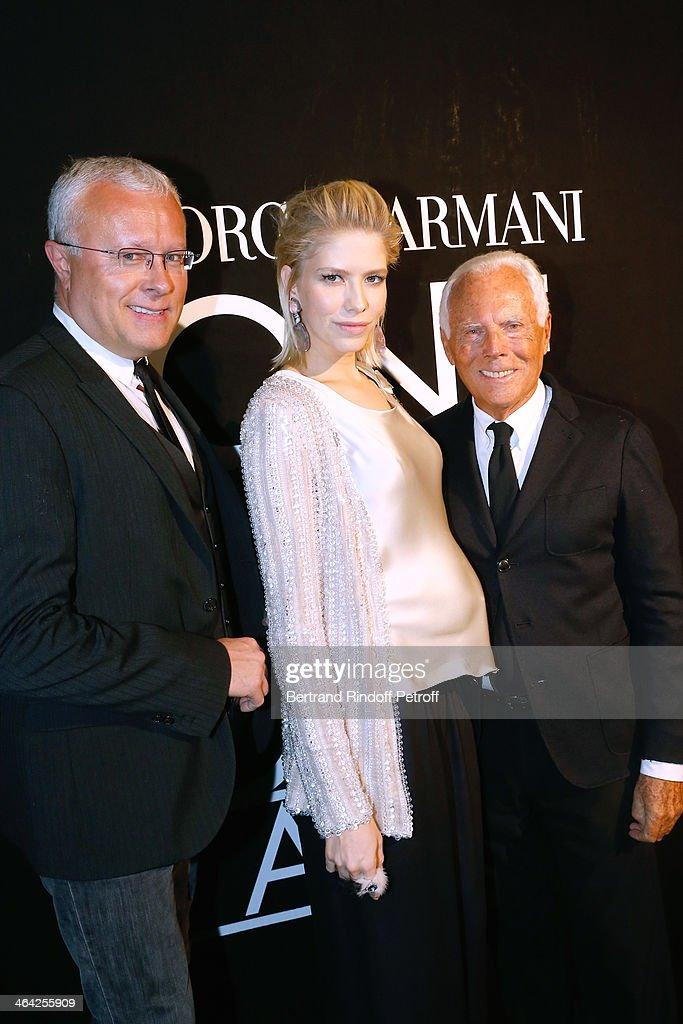 Giorgio Armani Prive  : Backstage - Paris Fashion Week - Haute Couture S/S 2014