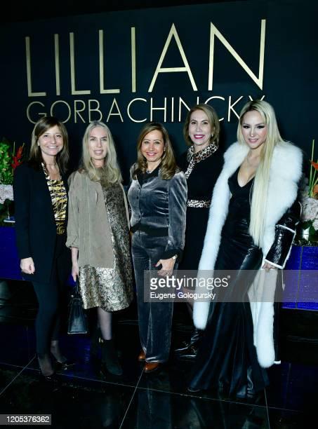 Elena Pirondini Lauren Lawrence Leda Nussbaum Iracilda Lichtinger and Lillian Gorbachincky attend the Andrea Bocelli Foundation Lillian Gorbachincky...