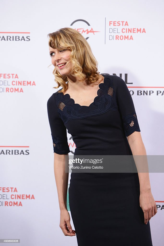 Elena Radonicich attends a photocall for 'Alaska' during the 10th Rome Film Fest on October 23, 2015 in Rome, Italy.