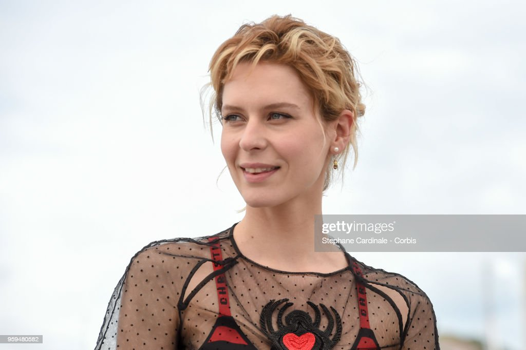 Elena Radonicich attends 'In My Room' Photocall during the 71st annual Cannes Film Festival at Palais des Festivals on May 17, 2018 in Cannes, France.