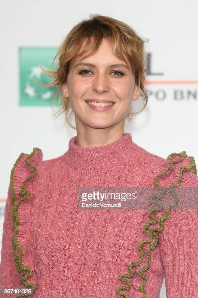 Elena Radonicich attends 'Metti Una Notte' photocall during the 12th Rome Film Fest at Auditorium Parco Della Musica on October 28 2017 in Rome Italy