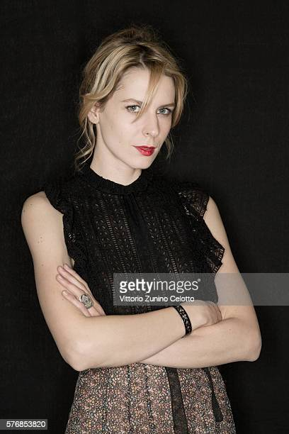 Elena Radonicich poses on July 14 2016 in Giffoni Valle Piana Italy