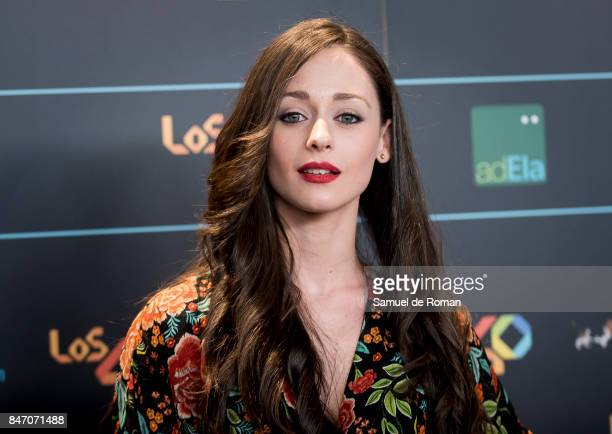 Elena Rivera attends 40 Principales Awards candidates dinner 2017 on September 14 2017 in Madrid Spain