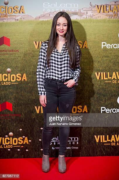Elena Rivera attends 'Villaviciosa De Al Lado' premiere at Capitol Cinema on December 1 2016 in Madrid Spain