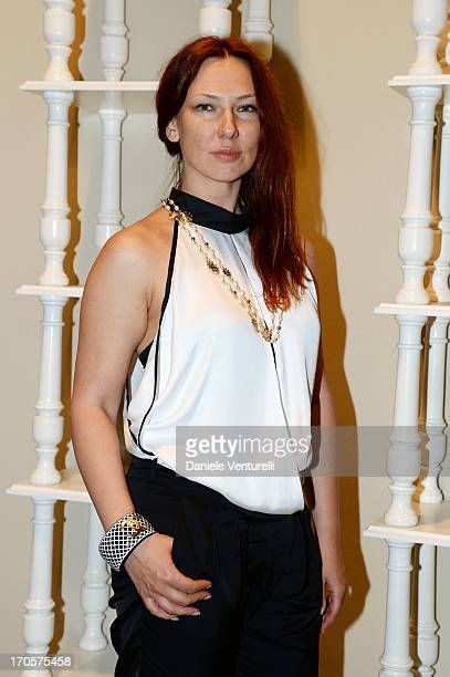 Elena Romanova attends Sicily Outlet Village Taormina Filmfest Dinner Taormina Filmfest 2013 at Sicily Outlet Village on June 14 2013 in Catania Italy