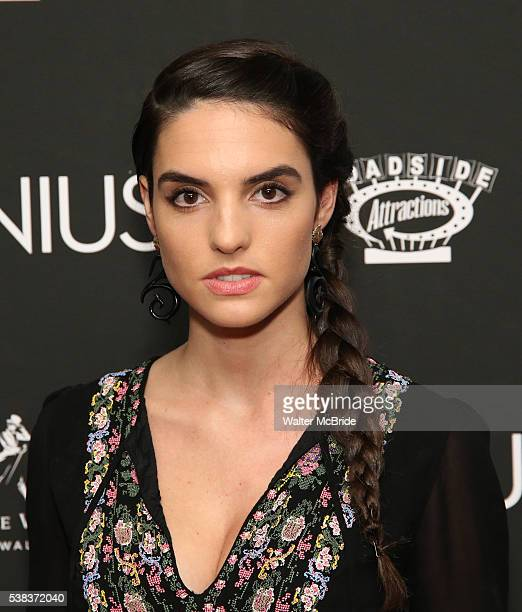 Elena Rusconi attends 'Genius' New York premiere at Museum of Modern Art on June 5 2016 in New York City