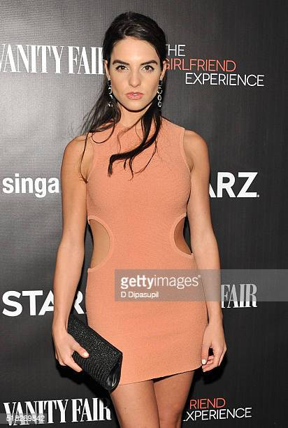 Elena Rusconi attends the New York premiere of The Girlfriend Experience at The Paris Theatre on March 30 2016 in New York City
