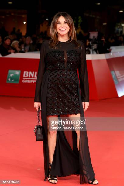 Elena Russo walks a red carpet for 'Prendre La Large' during the 12th Rome Film Fest at Auditorium Parco Della Musica on October 29 2017 in Rome Italy