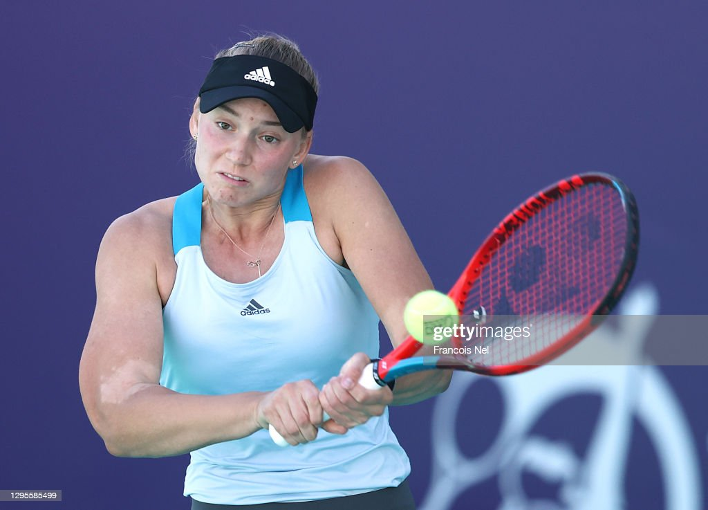 Abu Dhabi WTA Women's Tennis Open - Day Five : News Photo