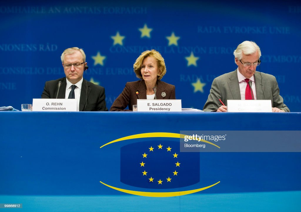 EU Ecofin and Eurogroup Ministers Meet