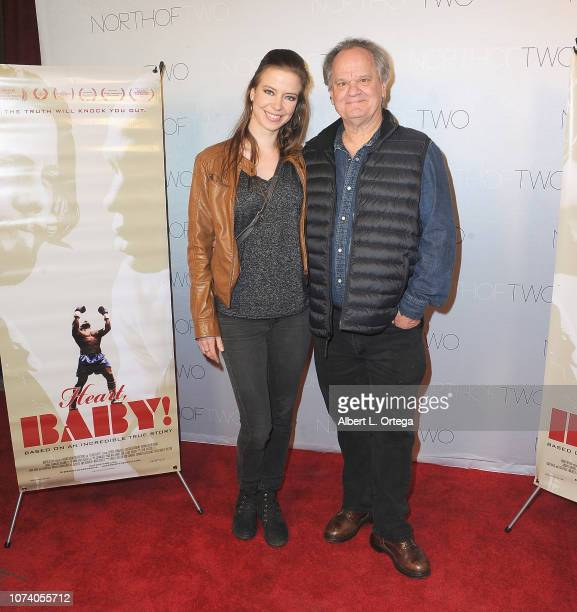 Elena Sanchez and Ritchie Montgomery arrive for the premiere of 'Heart Baby' held at The Ahrya Fine Arts Laemmle Theater on November 23 2018 in...
