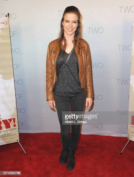 Elena Sanchez arrives for the premiere of 'Heart Baby' held at Ahrya Fine Arts Laemmle Theater on November 23 2018 in Beverly Hills California