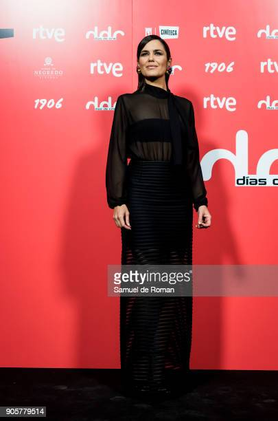 Elena Sanchez attends 'Dias de Cine' Awards on January 16 2018 in Madrid Spain
