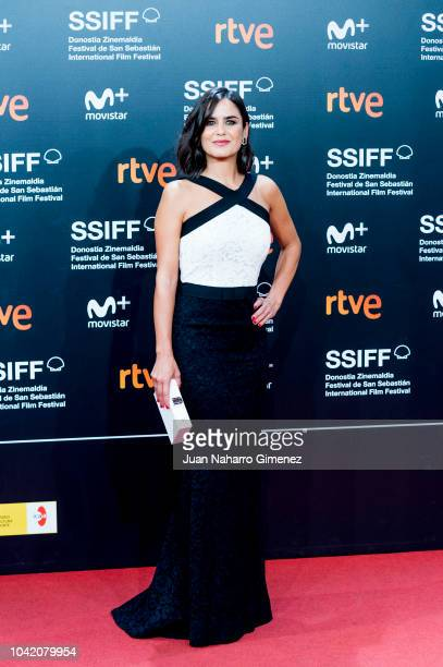Elena Sanchez attends the 'High Life' premiere during the 66th San Sebastian International Film Festival on September 27 2018 in San Sebastian Spain