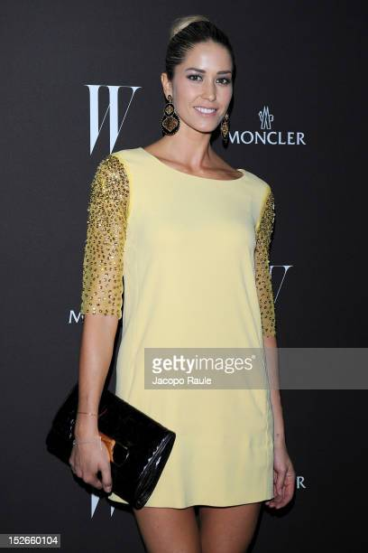 Elena Santarelli attends W Magazine Dance Party during Milan Fashion Week Womenswear S/S 2013 on September 23 2012 in Milan Italy