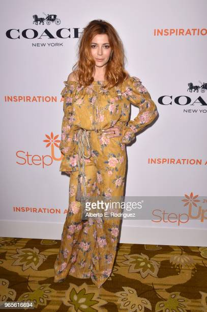 Elena Satine attends Step Up's 14th annual Inspiration Awards at the Beverly Wilshire Four Seasons Hotel on June 1 2018 in Beverly Hills California
