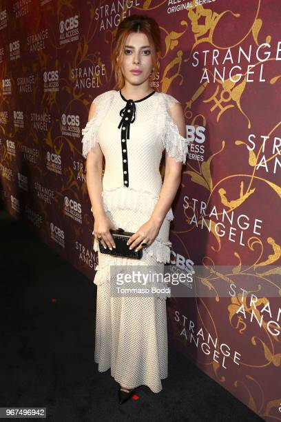Elena Satine attends the Premiere Of CBS All Access' 'Strange Angel' at Avalon on June 4 2018 in Hollywood California