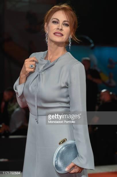 Elena Sofia Ricci at the 76 Venice International Film Festival 2019. The Laundromat red carpet. Venice , September 1st, 2019