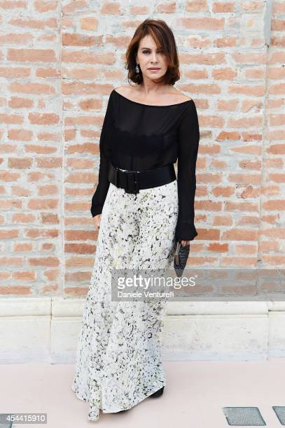 Elena Sofia Ricci attends the Kineo Award Photocall during the 71st Venice Film Festival at Hotel Excelsior on August 31 2014 in Venice Italy