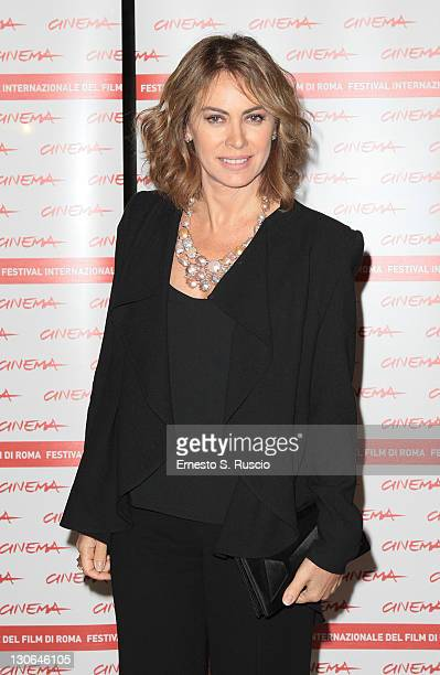 Elena Sofia Ricci attends the opening party of 6th International Rome Film Festival at Mercati Di Traiano on October 27, 2011 in Rome, Italy.