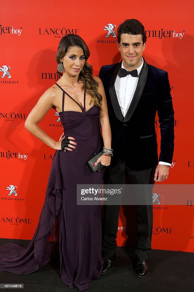 Elena Tablada and David Argita attend the 'Mujer de Hoy' awards 2013 at the Hotel Palace on December 17, 2013 in Madrid, Spain.