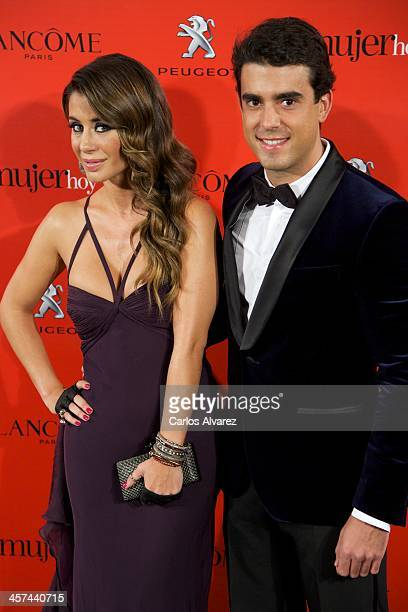 Elena Tablada and David Argita attend the 'Mujer de Hoy' awards 2013 at the Hotel Palace on December 17 2013 in Madrid Spain