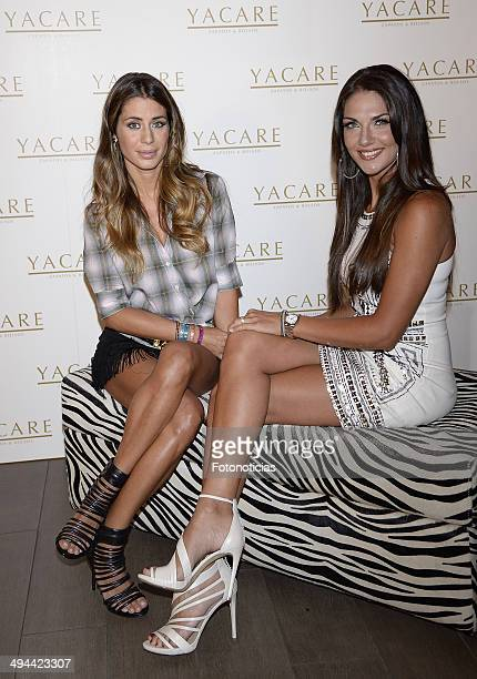 Elena Tablada and Lorena Bernal attend the 'Yacare' shoes boutique 2nd anniversary party on May 29 2014 in Madrid Spain