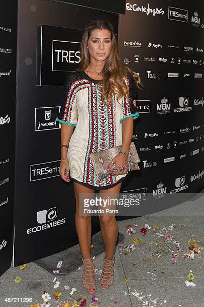 Elena Tablada attends 'Higly Preppy' fashion show photocall at Cristal Palace on September 7 2015 in Madrid Spain