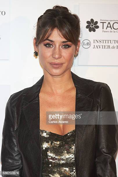 Elena Tablada attends Tacha Beauty and Javier De Benito Institute party at the Santa Coloma Palace on May 31 2016 in Madrid Spain
