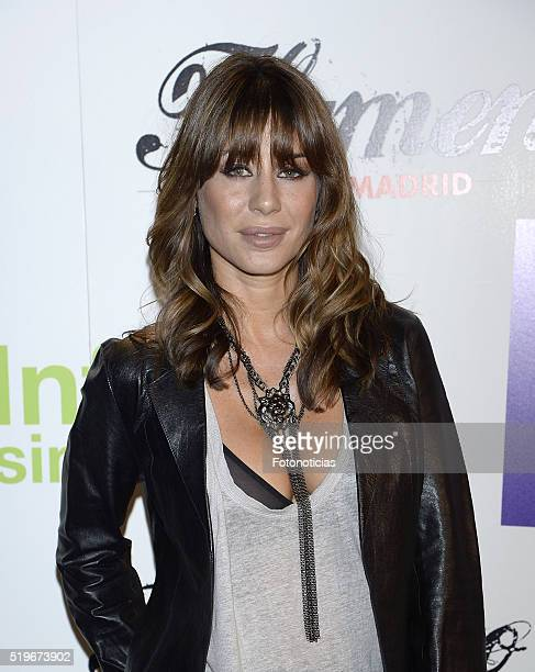 Elena Tablada attends the 'Flamenco Solidario' party at Bucca on April 7 2016 in Madrid Spain