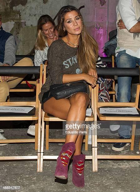 Elena Tablada attends The Hip Tee by Mario Vaquerizo catwalk at La Neomudejar on September 15 2015 in Madrid Spain