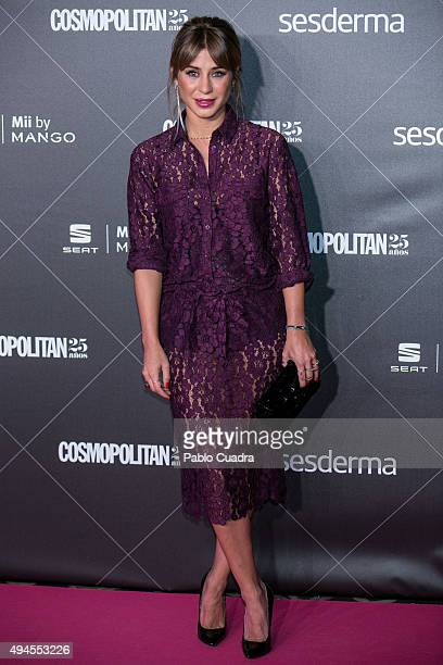 Elena Tablada attends VIII Cosmopolitan Fun Fearless Female Awards at Ritz hotel on October 27 2015 in Madrid Spain