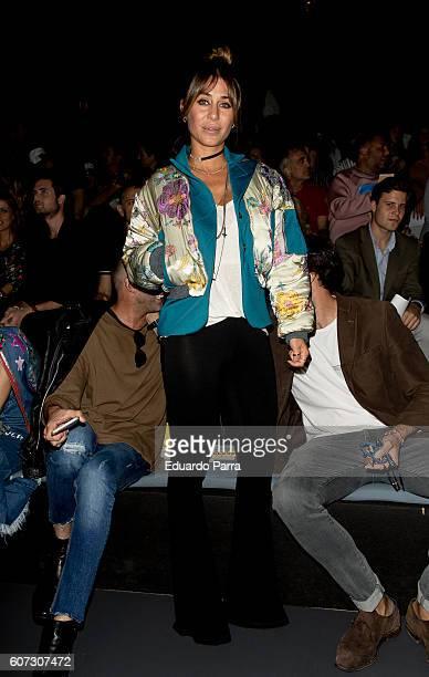 Elena Tablada is seen attending MercedesBenz Fashion Week Madrid Spring/Summer 2017 at Ifema on September 17 2016 in Madrid Spain