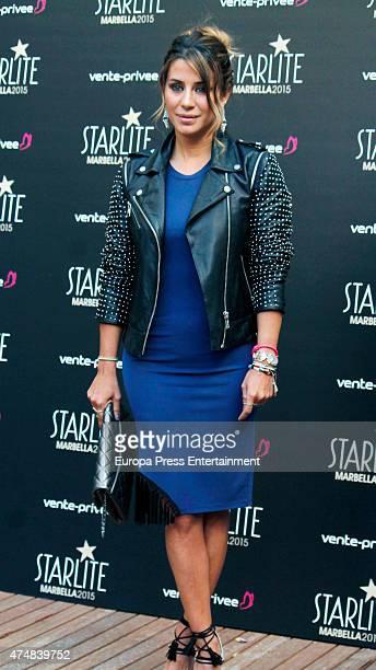 Elena Tablada presents 'Pure Starlite' party presentation on May 26 2015 in Madrid Spain