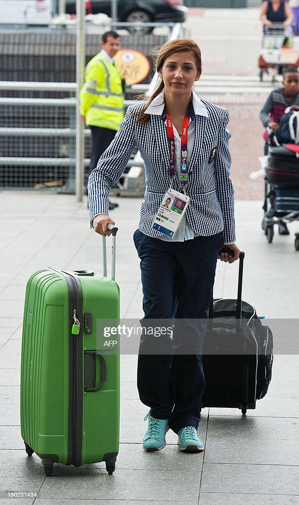 Elena Todorova, a gymnast of the Bulgari : News Photo
