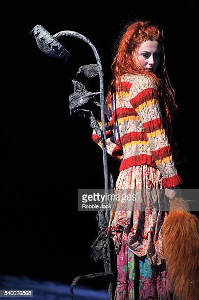 Elena Tsallagova as Vixen Sharp Ears in Glyndebourne's production of Leos Janacek's The Cunning Little Vixen directed by Melly Still and conducted by...