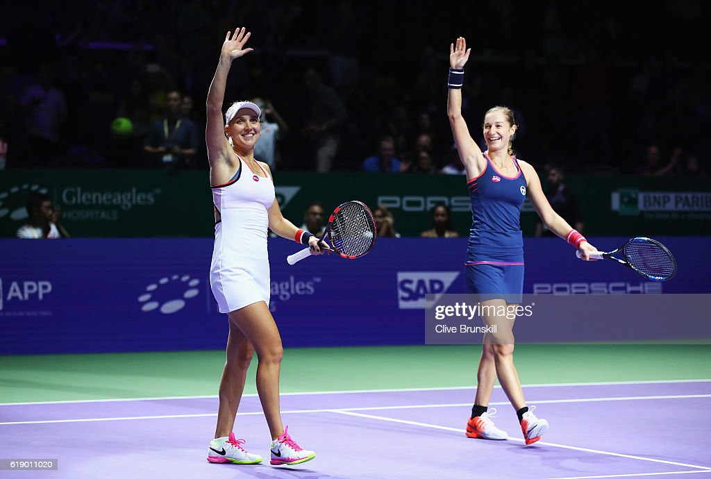 BNP Paribas WTA Finals: Singapore 2016 - Day Seven