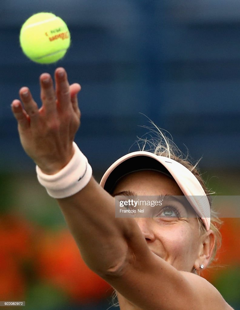WTA Dubai Duty Free Tennis  Championship - Day Three : News Photo