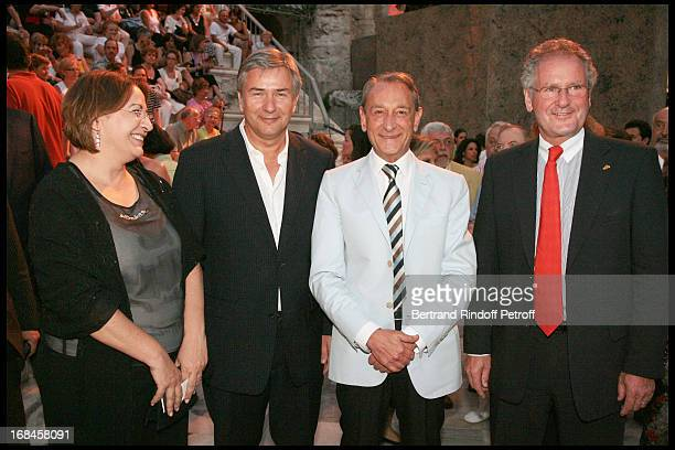 Eleni Mavrou, Mayor of Nicosie, Klaus Wowereit, Mayor of Berlin, Bertrand Delanoe, Mayor of Paris, Paul Helminger, Mayor of Luxembourg at Nana...