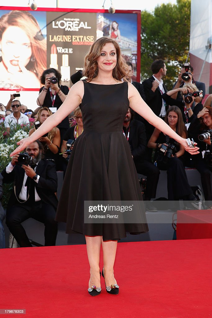 Eleni Roussinou attends the Closing Ceremony during the 70th Venice International Film Festival at the Palazzo del Cinema on September 7, 2013 in Venice, Italy.