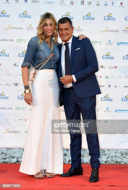 Elenoire Casalegno and Federico Aloisi attend the Gentleman Prize on May 22 2017 in Milan Italy