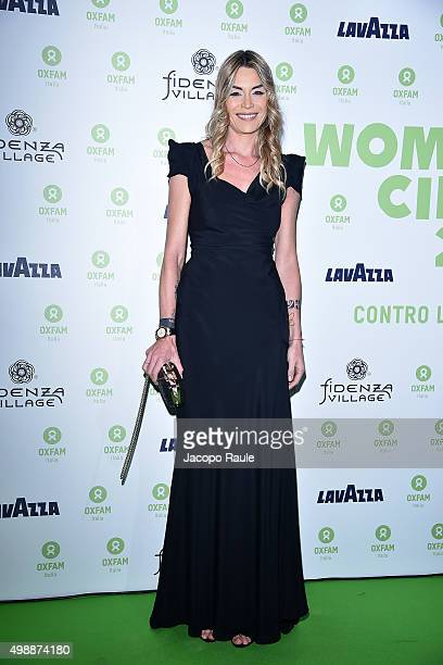 Elenoire Casalegno attends a photocall for Women's Circle 2015 OXFAM Charity Benefit on November 26 2015 in Milan Italy